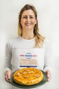 Elena -Cheesecake cioccolato bianco e arance