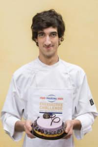 Luca - Purple Cheesecake - Philadelphia Cheesecake Challenge pasticceria vincitrice