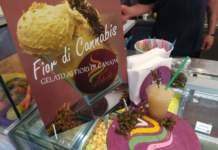 gelato e granita alla cannabis