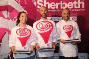 sherbeth palermo festival gelato podio