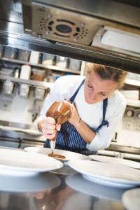Loretta Fanella in cucina