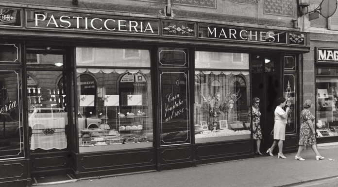 The Marchesi Pastry Shop In Milan