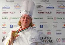 Olga Pinciuc gelato festival firenze 2019