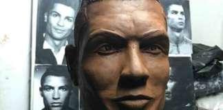 Cristiano Ronaldo di cioccolato