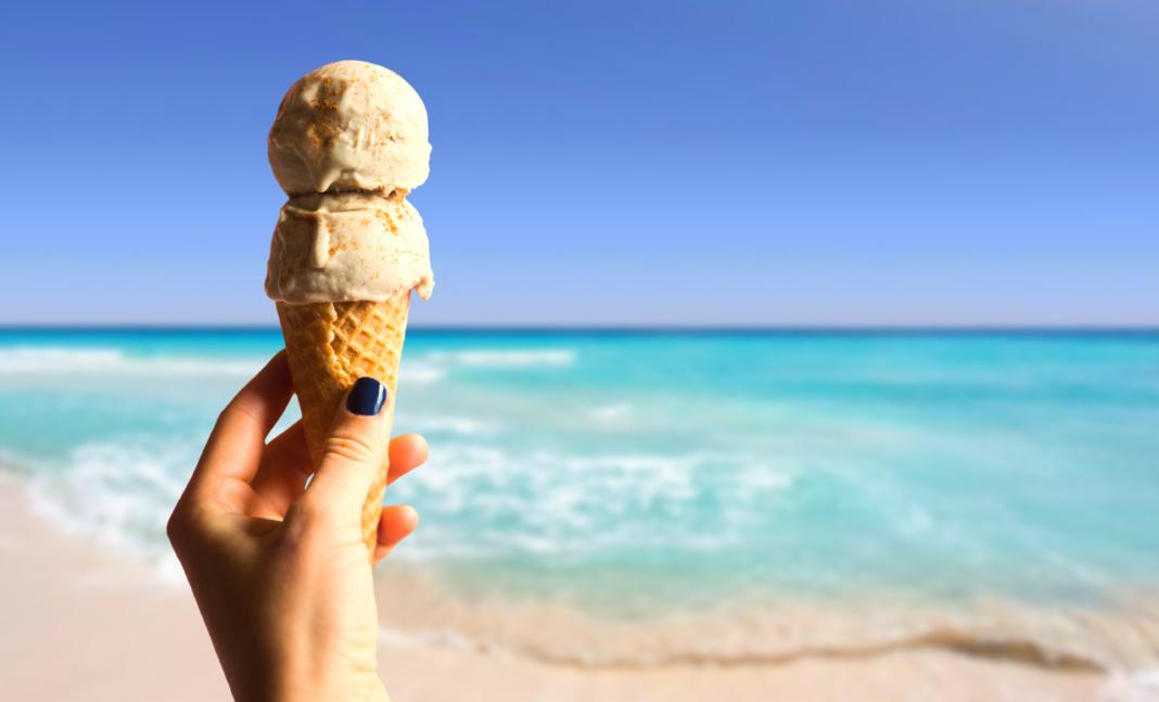 cono gelato estate