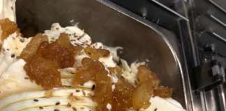 Il nuovo gusto Crema spalmabile pere caramellate con cannella e sesamo bianco